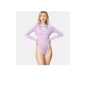 Adidas JI WON CHOI Women's Bodysuit Purple Large